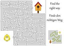 Βρείτε το σωστό τρόπο Στοκ Εικόνα