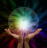 Βρείτε το χρόνο για τη θεραπεία στοκ εικόνες