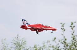 Βρετανικά κόκκινα βέλη της Royal Air Force Στοκ εικόνες με δικαίωμα ελεύθερης χρήσης