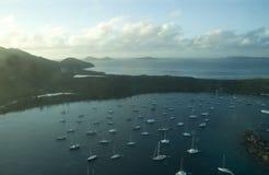 βρετανικά νησιά Virgin Στοκ Εικόνες