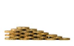 Βρετανικά νομίσματα Στοκ Εικόνα