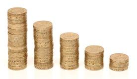Βρετανικά χρήματα στοκ εικόνα με δικαίωμα ελεύθερης χρήσης