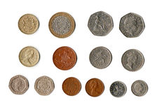 βρετανικά χρήματα Στοκ φωτογραφία με δικαίωμα ελεύθερης χρήσης