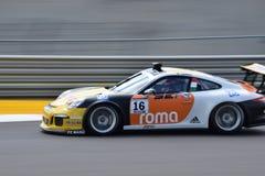 Βρετανικά Grand Prix 2015 της Porsche Supercup Στοκ εικόνα με δικαίωμα ελεύθερης χρήσης