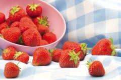 βρετανικές φράουλες στοκ φωτογραφίες με δικαίωμα ελεύθερης χρήσης