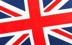 βρετανική ένωση γρύλων σημαιών μπλε κόκκινο λευκό Στοκ Φωτογραφίες
