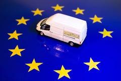 Βρετανική αφαίρεση από τη σημαία της ΕΕ στοκ εικόνα με δικαίωμα ελεύθερης χρήσης