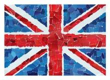 Βρετανική εθνική σημαία Στοκ φωτογραφία με δικαίωμα ελεύθερης χρήσης