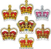 βρετανική κορώνα Στοκ εικόνες με δικαίωμα ελεύθερης χρήσης
