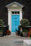 Βρετανική μπροστινή πόρτα Στοκ Φωτογραφίες