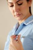 Βρετανική νοσοκόμα   στοκ εικόνες