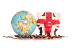 Βρετανική οικονομία μετά από Brexit Στοκ φωτογραφία με δικαίωμα ελεύθερης χρήσης