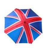 Βρετανική ομπρέλα Στοκ φωτογραφία με δικαίωμα ελεύθερης χρήσης