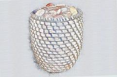 Βρετανική πένα νομίσματος διανυσματική απεικόνιση