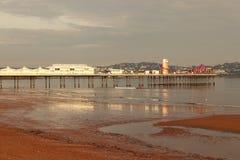 βρετανική παραλία στοκ φωτογραφία