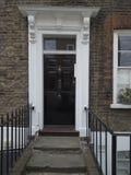 Βρετανική πόρτα μεγάρων Στοκ εικόνες με δικαίωμα ελεύθερης χρήσης