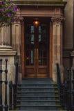Βρετανική πόρτα στοκ εικόνες