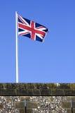 βρετανική σημαία Στοκ εικόνες με δικαίωμα ελεύθερης χρήσης