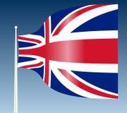 βρετανική σημαία Στοκ φωτογραφίες με δικαίωμα ελεύθερης χρήσης