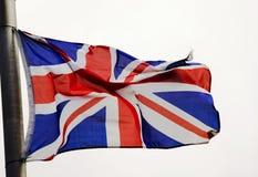 βρετανική σημαία Στοκ φωτογραφία με δικαίωμα ελεύθερης χρήσης