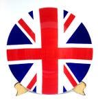 Βρετανική σημαία Στοκ Εικόνα
