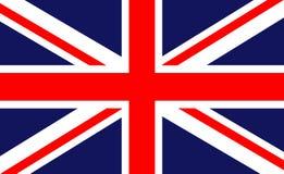 βρετανική σημαία Στοκ εικόνα με δικαίωμα ελεύθερης χρήσης