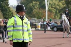 Βρετανικός αστυνομικός Στοκ εικόνα με δικαίωμα ελεύθερης χρήσης