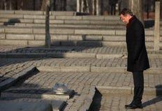 Βρετανικός πρωθυπουργός Ντέιβιντ Κάμερον Στοκ Φωτογραφία