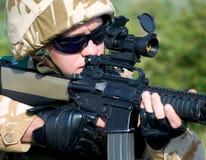 βρετανικός στρατιώτης Στοκ Εικόνες