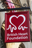 Βρετανικό ίδρυμα καρδιών Στοκ Εικόνες