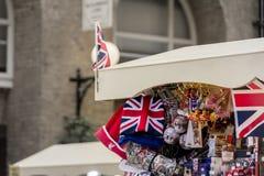 Βρετανικό αναμνηστικό στο Λονδίνο Στοκ Φωτογραφίες