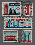 Βρετανικό εικονίδιο διανυσματική απεικόνιση