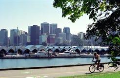 βρετανικό λιμάνι Βανκούβερ του Καναδά Κολούμπια Στοκ Φωτογραφία