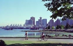 βρετανικό λιμάνι Βανκούβερ του Καναδά Κολούμπια Στοκ Φωτογραφίες