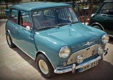 Βρετανικό μίνι δευτερεύον αυτοκίνητο Morris Στοκ Εικόνα