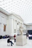 Βρετανικό μουσείο Στοκ Εικόνες
