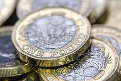 Βρετανικό νόμισμα 2017 Στοκ Εικόνες
