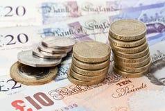 βρετανικό νόμισμα στοκ εικόνα