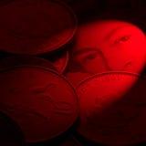βρετανικό νόμισμα Στοκ εικόνα με δικαίωμα ελεύθερης χρήσης
