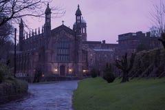 Βρετανικό πανεπιστήμιο Στοκ εικόνες με δικαίωμα ελεύθερης χρήσης