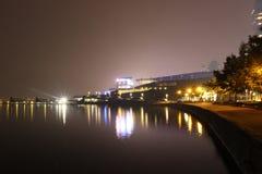 βρετανικό στο κέντρο της πόλης λιμάνι Βανκούβερ της Κολούμπια άνθρακα Στοκ Φωτογραφίες