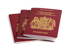 βρετανικό διαβατήριο Στοκ φωτογραφία με δικαίωμα ελεύθερης χρήσης
