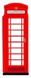 Βρετανικό phonebooth Στοκ Φωτογραφία