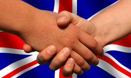 Βρετανοί ασχολούνται Στοκ εικόνα με δικαίωμα ελεύθερης χρήσης