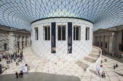 Βρετανοί μέσα στο μουσείο Στοκ φωτογραφία με δικαίωμα ελεύθερης χρήσης