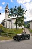 Βρετανοί που συναγωνίζονται πράσινο Bentley 3 λίτρο Στοκ εικόνες με δικαίωμα ελεύθερης χρήσης