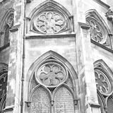 Βρετανοί στην παλαιές κατασκευή και τη θρησκεία του Λονδίνου Αγγλία Στοκ εικόνα με δικαίωμα ελεύθερης χρήσης