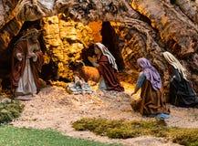 Βρεφικός σταθμός Χριστουγέννων Στοκ εικόνες με δικαίωμα ελεύθερης χρήσης