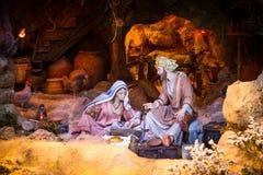 Βρεφικός σταθμός Χριστουγέννων Στοκ Εικόνα