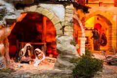 Βρεφικός σταθμός Χριστουγέννων Στοκ Φωτογραφίες